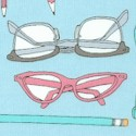 Type - Eyeglasses and Pencils by Julia Rothman