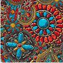 American Heritage 2 - Southwest Jewelry Motifs - BACK IN STOCK!