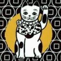 Medetai - Manekineko Lucky Cat by Hoodie