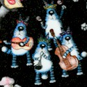 On a Lark - Whimsical Musical Cats