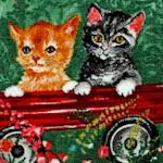 Cat Charm - Garden Scenes