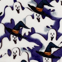 Fright Night - Packed Ghosts in Witch's Hats