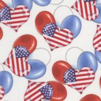 Teddy's America - Tossed Patriotic Balloons by Robert Giordano