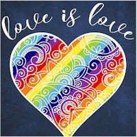 Love is Love - Digital Panel - SOLD AND PRICED BY THE FULL PANEL ONLY