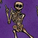 Boo Crew on Purple by Dan Morris
