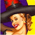 Bewitched - Sultry Halloween Pinups on Purple