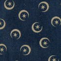 Moon and Stars on Navy