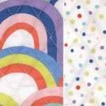 Reversible Quilted Over the Rainbow by Ampersand