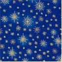 Seasons Greetings Gilded Starry Sky