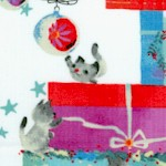 Purrfect Christmas Kitten Gifts by Masha D�yans