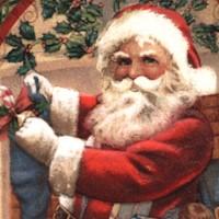 Old Time Christmas - Nostalgic Santa (Digital)