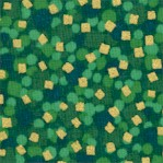 Kim�s Choices - Metallic Gold Confetti on Green