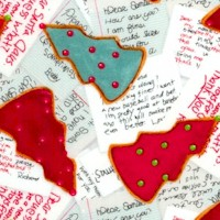 Jolly Ole Soul - Tossed Christmas Cookies and Letters to Santa by Barb Tourtillotte