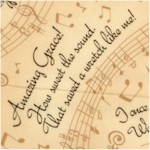 Amazing Grace - Tossed Lyrics and Musical Scores