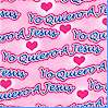 Yo Quiero A Jesus - I Love Jesus on Pink FLANNEL