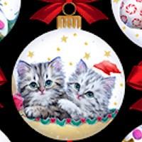 Kitty Christmas - Adorable Ornaments by Kayomai Harai
