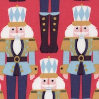 Snowflake Waltz - Colorful Nutcrackers
