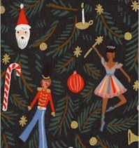 Holiday Classics - Nutcracker Gilded Ornaments by Rifle Paper