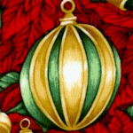Christmas in Bloom - Elegant Ornaments and Poinsettias