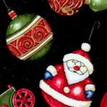 Christmas Elegance - Tossed Ornaments by Dan Morris