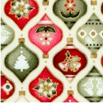 The Giving Quilt - Gilded Small Scale Ornaments by Jennifer Chiaverini