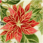 Holiday Edition - Gilded Poinsettias