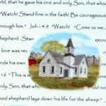 Amazing Grace - Country Churches and Bible Verses