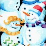Snow Fun - Packed Snowmen
