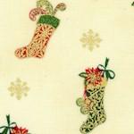 Tis the Season - Gilded Christmas Stockings by Ro Gregg