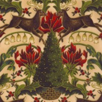 All the Trimmings - Elegant Gilded Christmas Floral