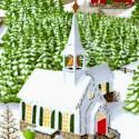 Winter Wonderland - Snow Colored Village