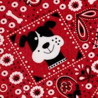 Dog Bandana in Red