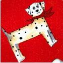 Doggie Toss by Jennifer Garant - LTD. YARDAGE AVAILABLE