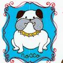 Doggy dog - Whimsical Dogs on Ivory