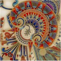 Treasures of Alexandria - Elegant Gilded Egyptian Motifs on Cream