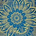 Legacy - Exquisite Gilded Egyptian Motifs on Blue