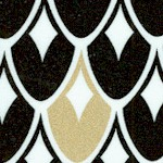 Nightfall - Gilded Art Deco Scallops