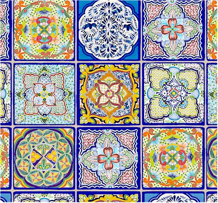 Fiesta Colorful Mexican Painted Tiles Back In Stock