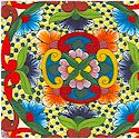 Fiesta - Colorful Mexican Painted Tiles- BACK IN STOCK! (SW-fiesta-L923)