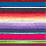 Fiesta - Colorful Southwestern Serape Stripe - BACK IN STOCK!