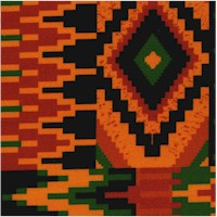 Kente Zigzag (Digital)