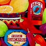 Packed Southwestern Foods- LTD. YARDAGE AVAILABLE