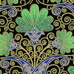 Taj Mahal - Gilded Indian Style Floral
