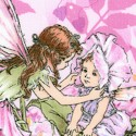 Petal Flower Fairies in Pink and Lilac