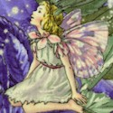Night Fairies with Stardust Glitter by Cicely Mary Barker