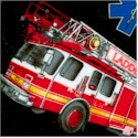 In Motion - Tossed Emergency Vehicles - BACK IN STOCK!