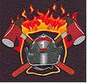 Firemen 911 Firefighter Collage (FIRE-firemen-M14)