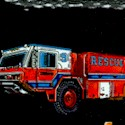 America's Heroes - Rescue Vehicles by Dan Morris - LTD. YARDAGE AVAILABLE (.75 YD) MUST BE PURCHASED