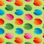 Calypso Goldfish - Mini Colorful Lilypads by Ro Gregg