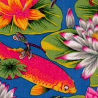 Secret Stream - Ember Brook Koi and Lotus Pond